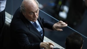 Which had good ole Sepp pointing fingers yet again