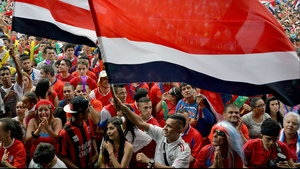 Costa Rica fans watching the match in San Jose kept hope alive, though, as their side entered the half-time break drawn scoreless with a stingy Greece