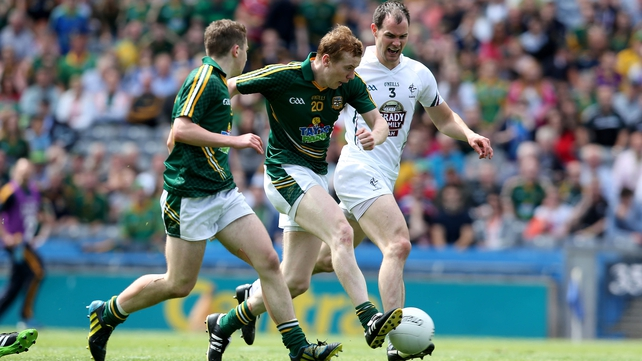 Dalton McDonogh scored Meath's second goal in their victory over Kildare
