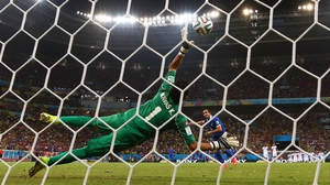 In the end, it was Navas who provided the decisive save on Greece's fourth shot, off the foot of substitute forward Theofanis Gekas