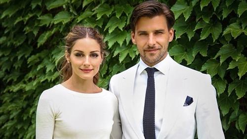 Newlyweds Olivia Palermo and Johannes Huebl - Instagram/johanneshuebl