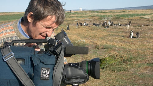 Anatoly Klyan was shot in the stomach after his film crew came under fire