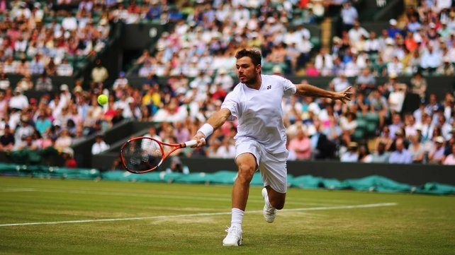 Australian Open champion Stanislas Wawrinka has never got beyond the fourth round at Wimbledon