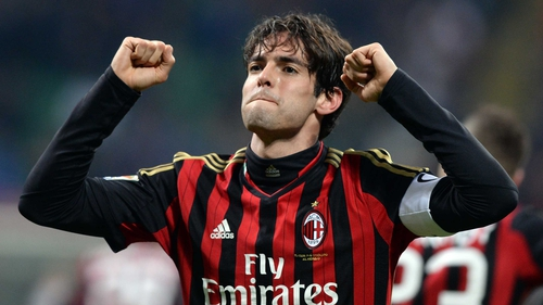 Kaka scored 104 goals in 307 appearances for AC Milan