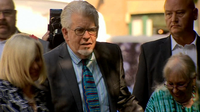Rolf Harris found guilty of 12 counts of indecent assault