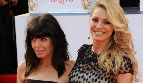 Claudia Winkleman and Tess Daly Presenters of Strictly Come Dancing