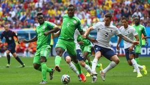 Nigeria forward Emmanuel Emenike dominated the Super Eagles surge