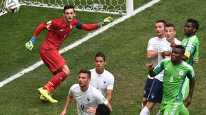 Nigeria maintained a steady forward presence, forcing France keeper and captain Hugo Lloris to keep a constant vigilance