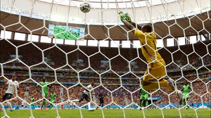 France forced Nigeria keeper Vincent Enyeama to make his fair share of saves in the first