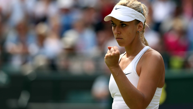 Sabine Lisicki beat Ana Ivanovic to advance