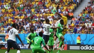 At 79' France finally found their goal, when emerging star midfielder Paul Pogba headed a corner past Enyeama, who had mistakenly drifted forward in the box