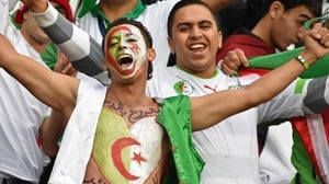And the Algerians felt the same love for the day once inside