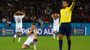 The German players continued to revel in frustration, as midfielder Bastian Schweinsteiger and company could not convert any chances nor keep Algeria from creating their own