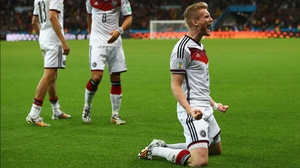 Schuerrle celebrated his first ever World Cup goal