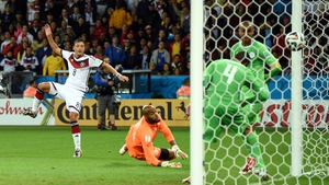 Midfielder Mesut Ozil knocked another one back with just a single minute of extra time remaining to seemingly solidify Germany's victory