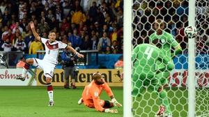 Mesut Oezil scored Germany's winner
