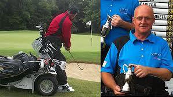 Tony Brouder - wheelchair golf