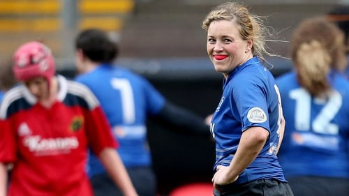 Sharon Lynch is the only uncapped player in the squad