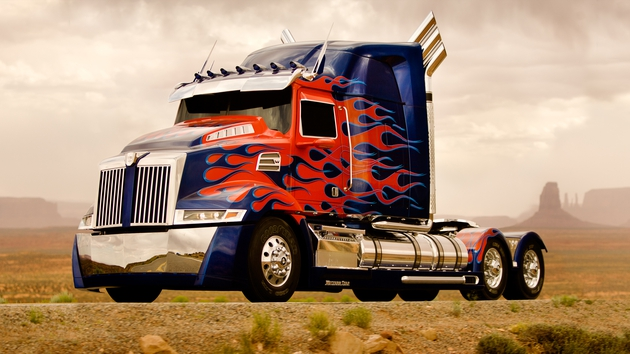 Optimus Prime is back and shinier than ever