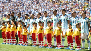 The Argentina squad - which many predicted could go the distance here in Brazil