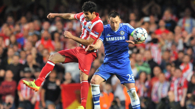 Diego Costa and John Terry will be team-mates at Chelsea next season