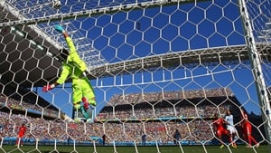 Benaglio prevented the Argentinian equaliser with his leap to great heights