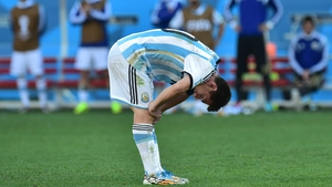 Messi continued to mire in frustration, as his side could not crack the Swiss defence