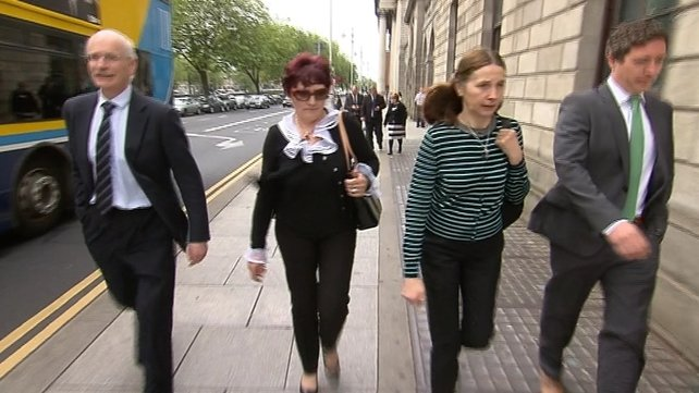 The court was told Hazel McGarrigle has been singularly fortunate in the family she has