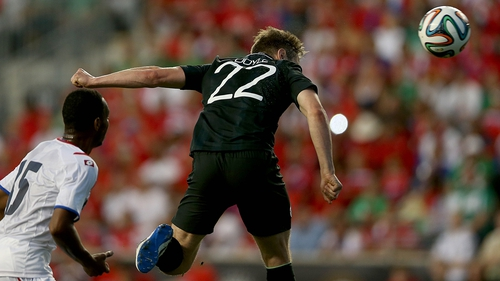 Kevin Doyle scored Ireland's goal in the 1-1 draw with Costa Rica