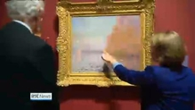 Restored Monet painting back on display