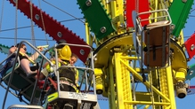 Up, up and away - Tramore funfair leaves chair-o-plane passengers in mid-air