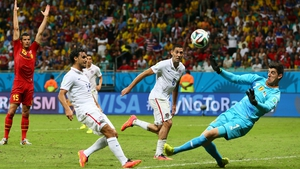 The US hung on with Chris Wondolowski missing a sitter to win it from six yards in injury-time