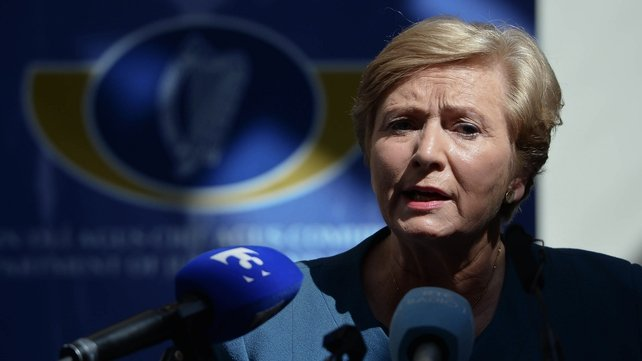 Frances Fitzgerald apologised to the families on behalf of the State