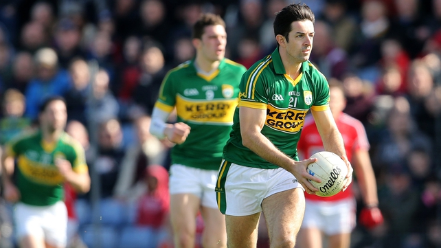 Aidan O'Mahony returns to the Kerry defence