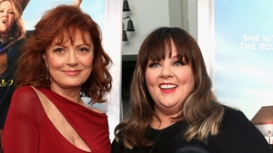 Susan Sarandon and Melissa McCarthy at the Hollywood premiere of Tammy