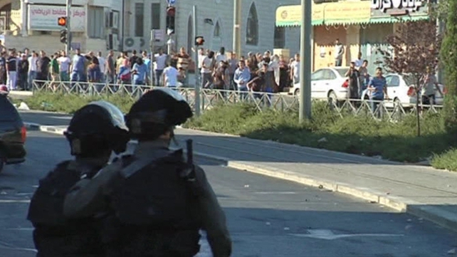 The clashes broke out following Israeli raids on Jenin