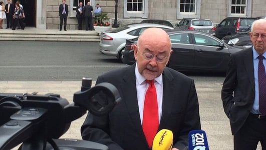 Ruairi Quinn Announcement