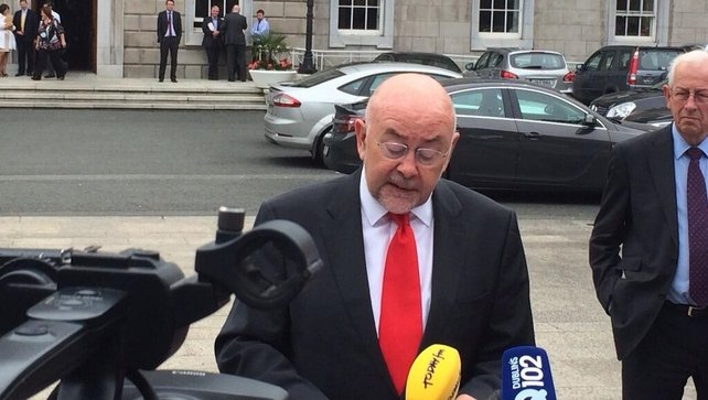Mr Quinn said he will not seek re-election as a TD