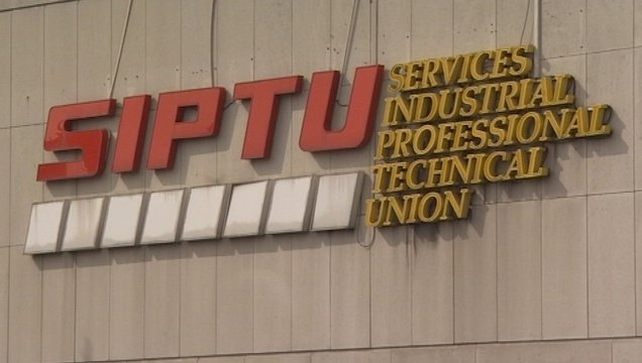 SIPTU has raised concerns about gardaí being called to the plant