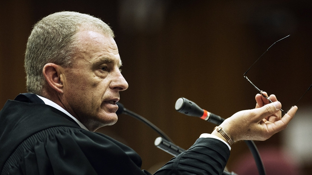 Prosecutor Gerrie Nel has read excerpts from the psychological report