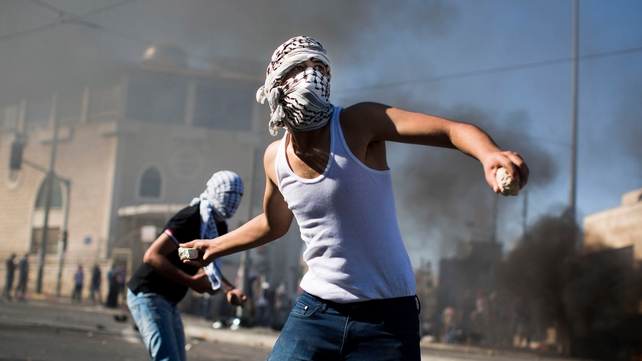 Clashes have broken out in Jerusalem