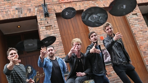 Snow Patrol's Jonny Quinn (far left) and Kodaline - Among those supporting new initiative