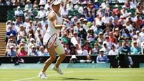 Simona Halep is through to the semi-finals at Wimbledon