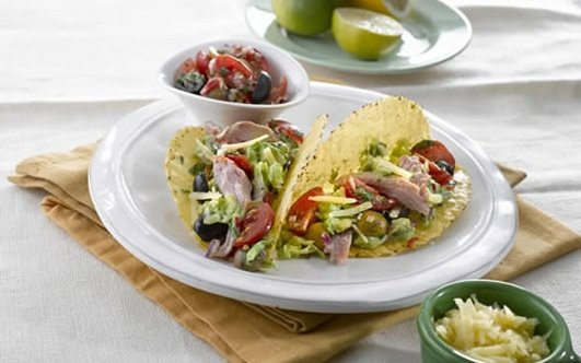 Neven's Recipies - Ham Tacos with Tomato Salsa