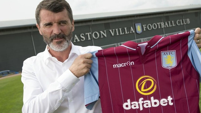 Roy Keane will continue to be assistant to Republic of Ireland manager Martin O'Neill (Pic: @AVFCOfficial)