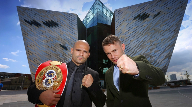 Carl Frampton (r): 'I just feel everything has fallen into place'