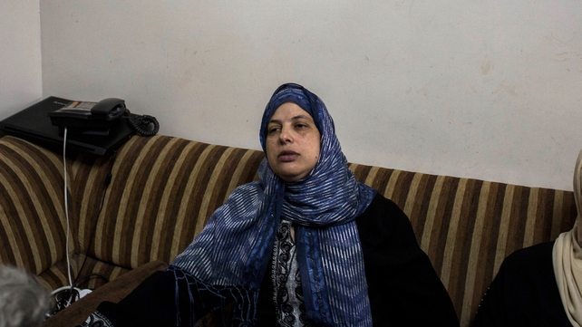 The mother of murdered Palestinian teenager Muhammad Hussein Abu Khdeir mourns his death