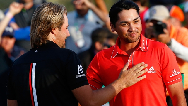 Australian Jason Day beat France's Victor Dubuisson in this year's WGC Match Play final