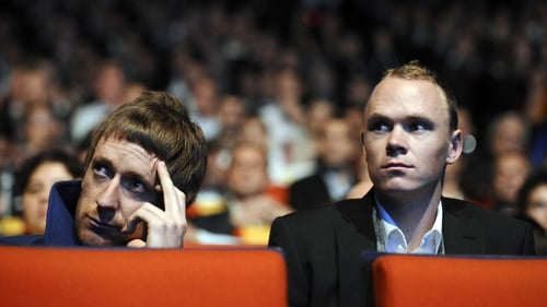 Bradley Wiggins and Chris Froome have had disagreements in the past