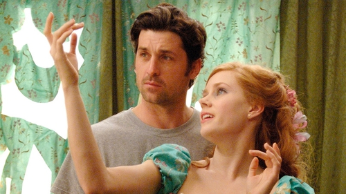 Amy Adams and Patrick Dempsey in Enchanted